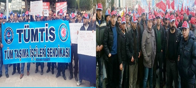 Adana ve Ankara'da Kıdem Tazminatı Eylemi