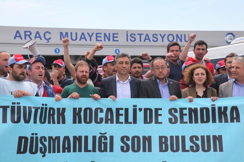 Tüvtürk-Kocaeli Direnişimize Uluslararası Destek