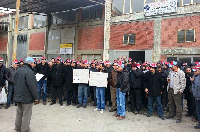 Ankara ve Bursa Nakliyat Ambarlarında Yeni Dönem TİS'leri İmzalandı