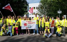 Almanya'da kamu emekçileri yüzde 6 zam istedi