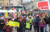 Almanya'da kamuda 24 saatlik grev etkili oldu
