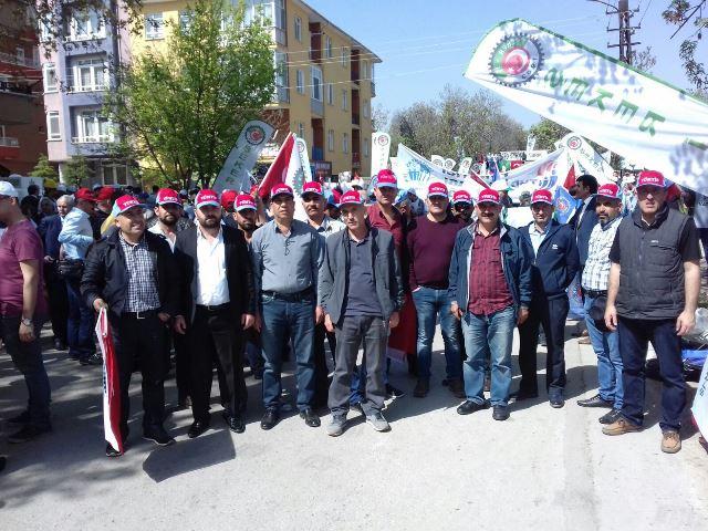 Şeker Fabrikaları İçin Ankara'da Eylem