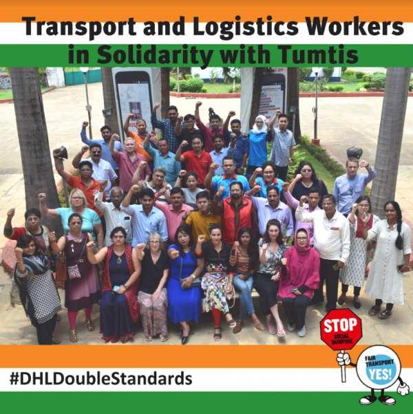 DHL Express İşçileri İçin Dünya Çapında Eylem!