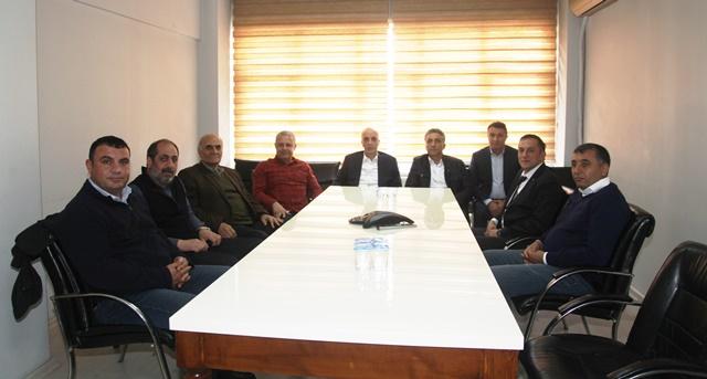Türk-İş Başkanı Ergün Atalay'dan sendikamıza ziyaret