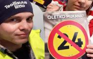 Finlandiya'da sanayi grevi; 100 bin emekçi iş bıraktı