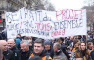 Fransa emeklilik reformuna karşı grevde