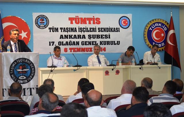 Ankara Şubemizin 17'inci Genel Kurulu Tamamlandı