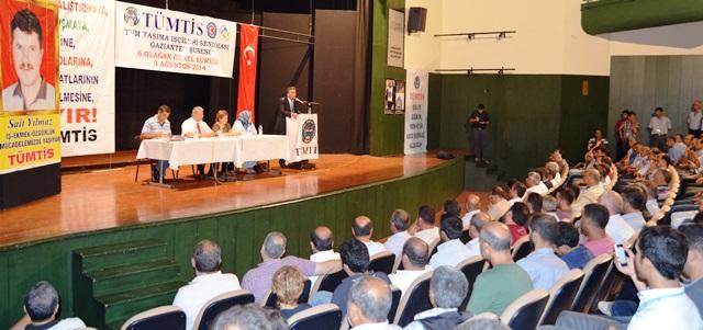 Gaziantep Şubemizin 6'ıncı Genel Kurulu Tamamlandı