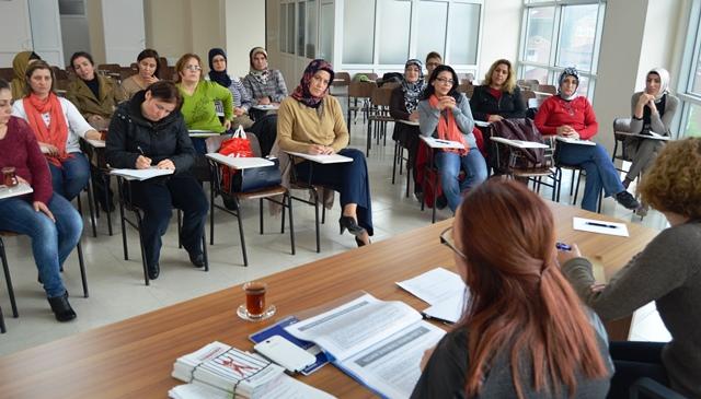 Kadın Üyelerimiz Eğitim Çalışmasında Bir Araya Geldi