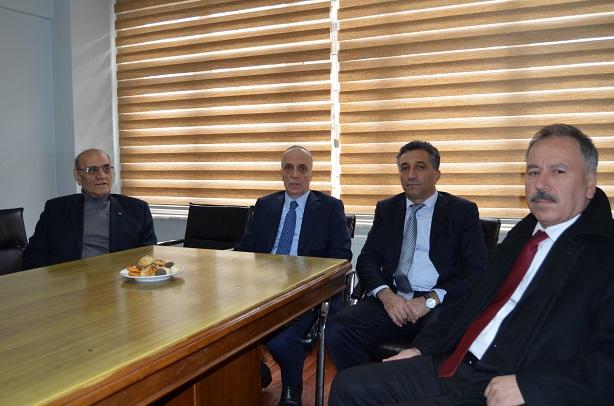 Türk İş Başkanı Atalay'dan Sendikamızı Ziyaret