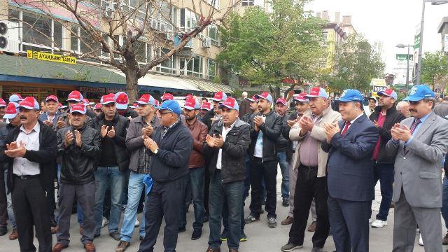 Ankara'da 'Kiralık İşçilik' Düzenlemesine Karşı Ortak Eylem